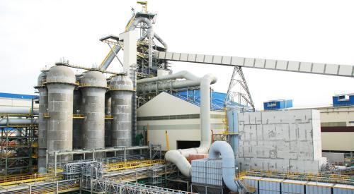 中龍高爐工廠電控設備安裝工程