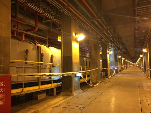 林口電廠更新擴建計畫[輸煤廊道]新建工程